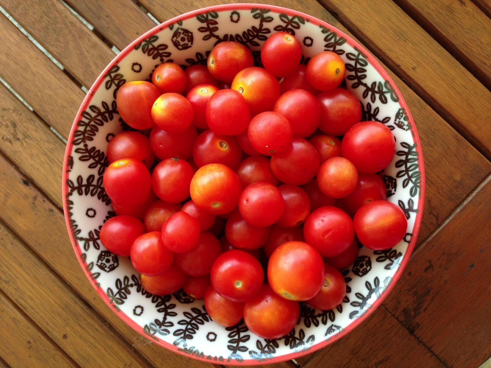 Черри - томаты с десертным вкусом