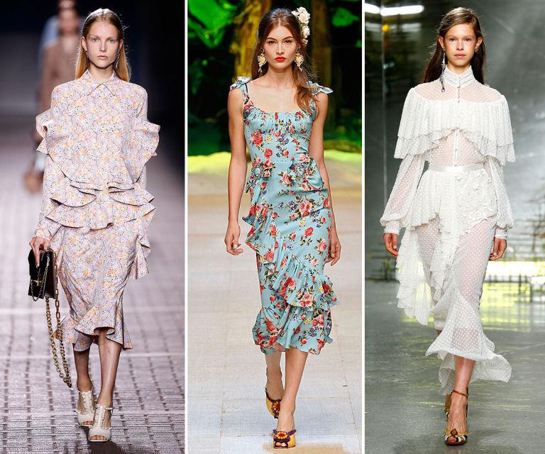 образы в летних платьях фото