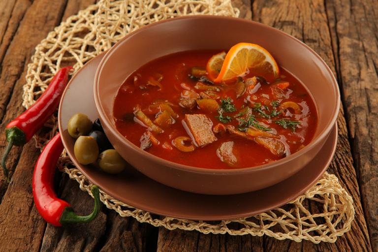 Как приготовить солянку сборную мясную в домашних условиях рецепт 4