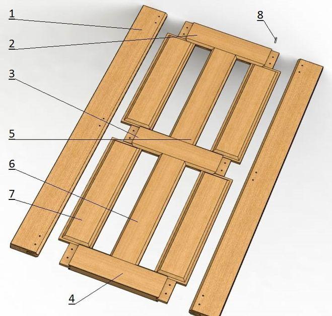 Деревянная дверь своими руками схема 79