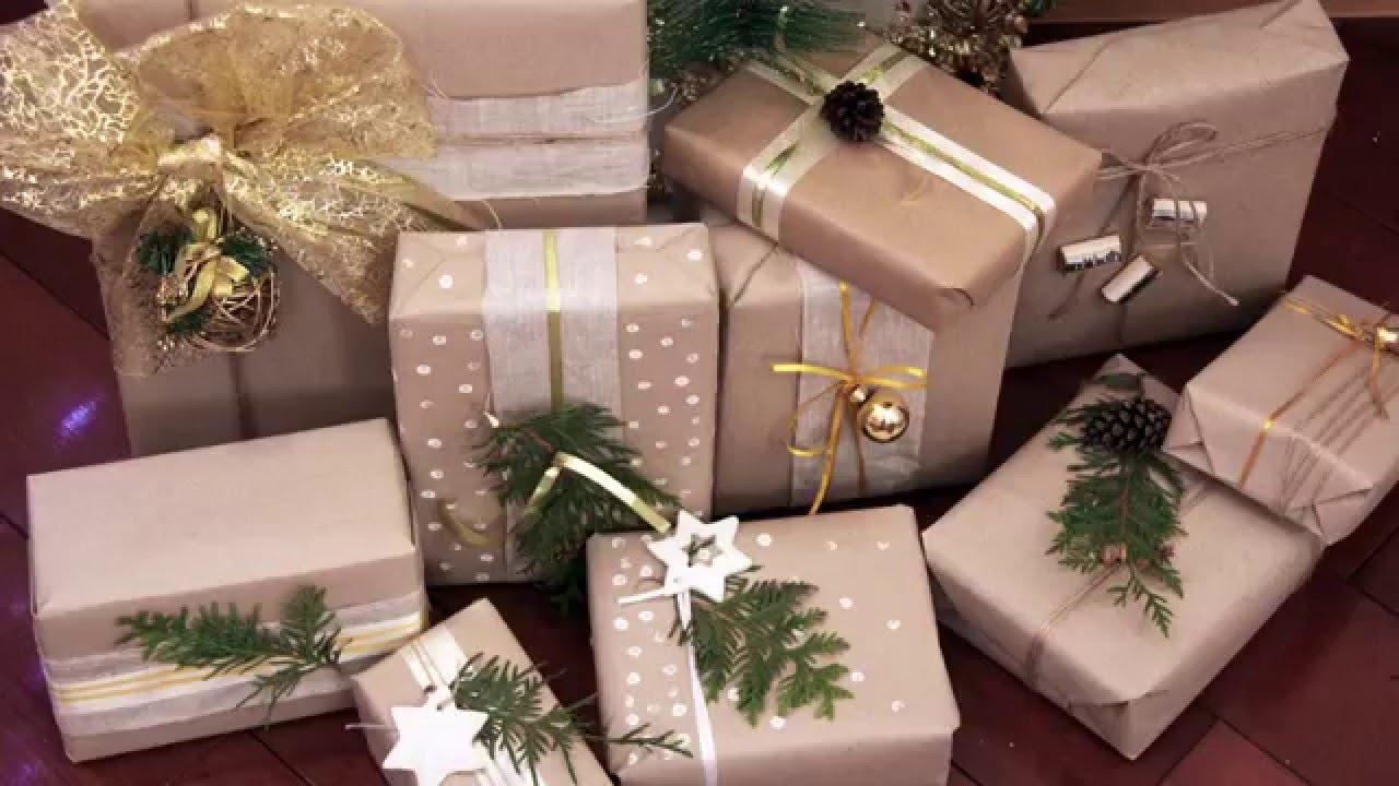 Оформить подарок по новогоднему 17