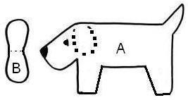 Как просто и быстро сшить собачку-брелок
