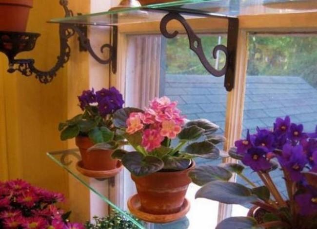 Мастер-класс по созданию этажерки, полки для цветов, рассады