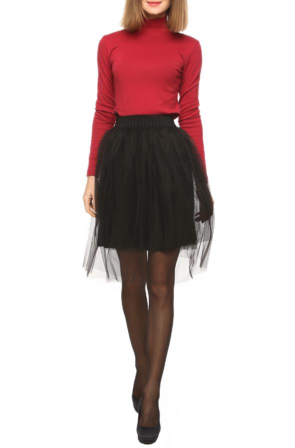 стильная юбка из фатина