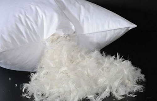 Как стирать подушки из пера и пуха