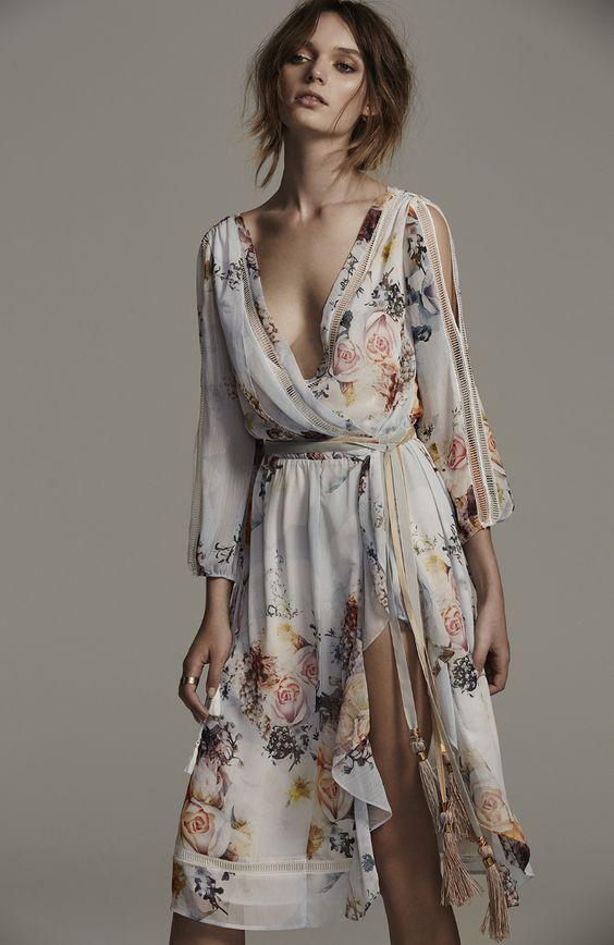 как выбрать платье худой девушке