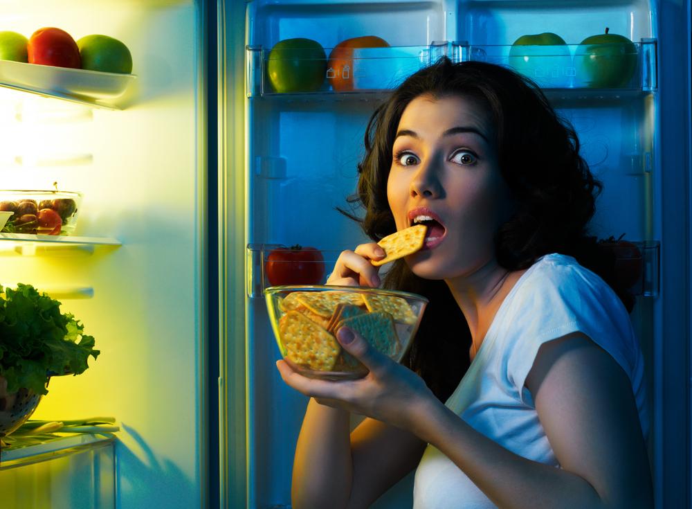 Прикольные картинки о еде на ночь