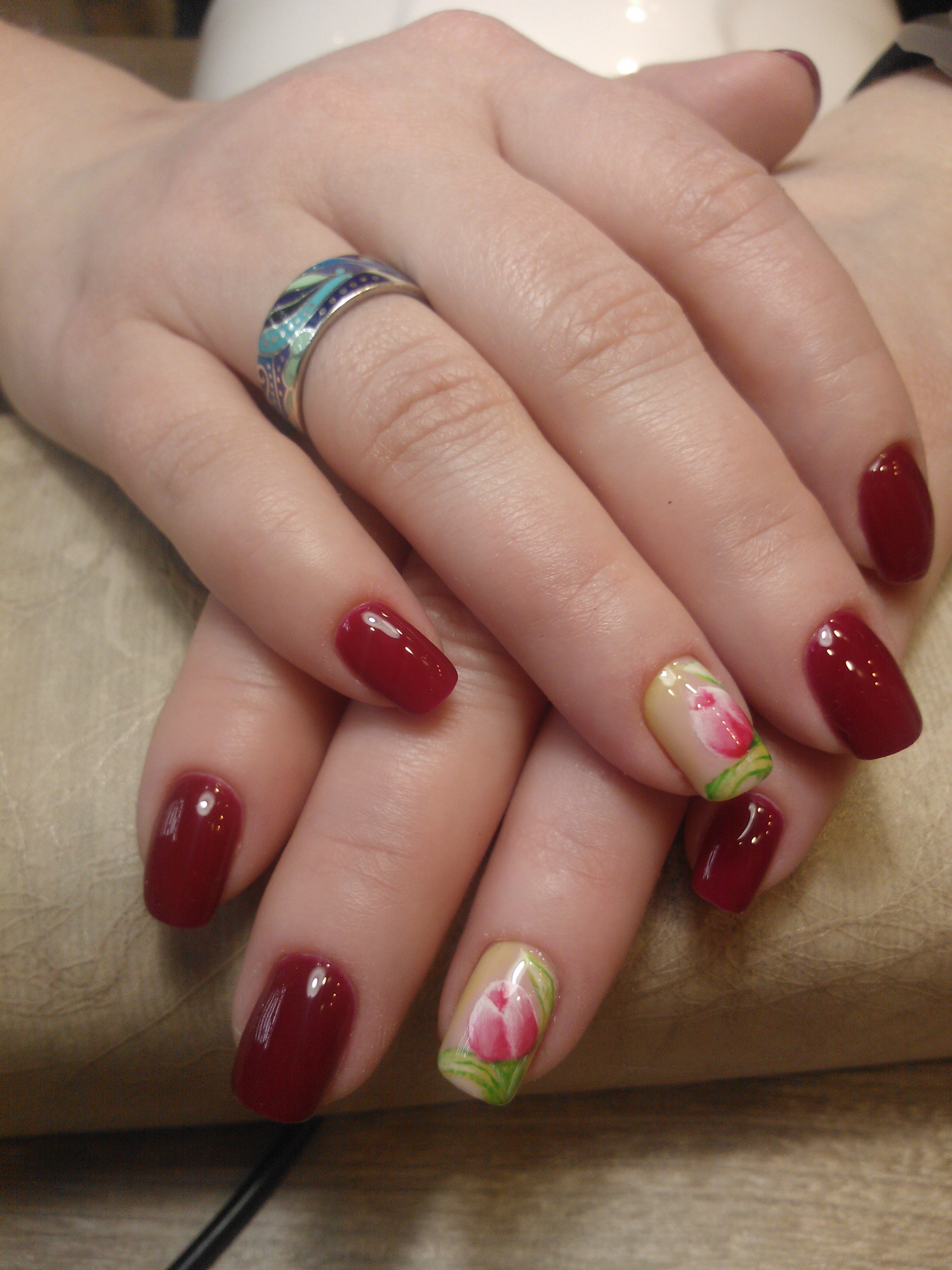 Как делать наклейки на ногти