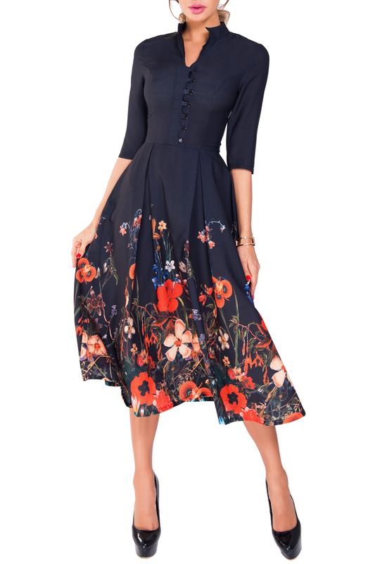 платье колокол для женщин