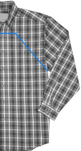 Простой способ сшить два кухонных фартука из мужской рубашки