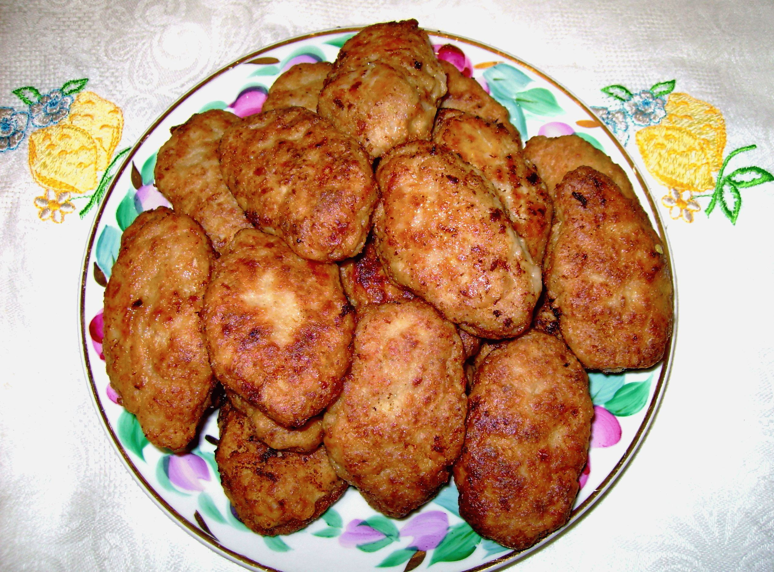 Как приготовить котлеты из куриного фарша рецепт с пошаговым 92