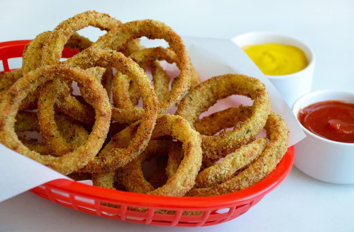 Чипсы луковые кольца рецепт