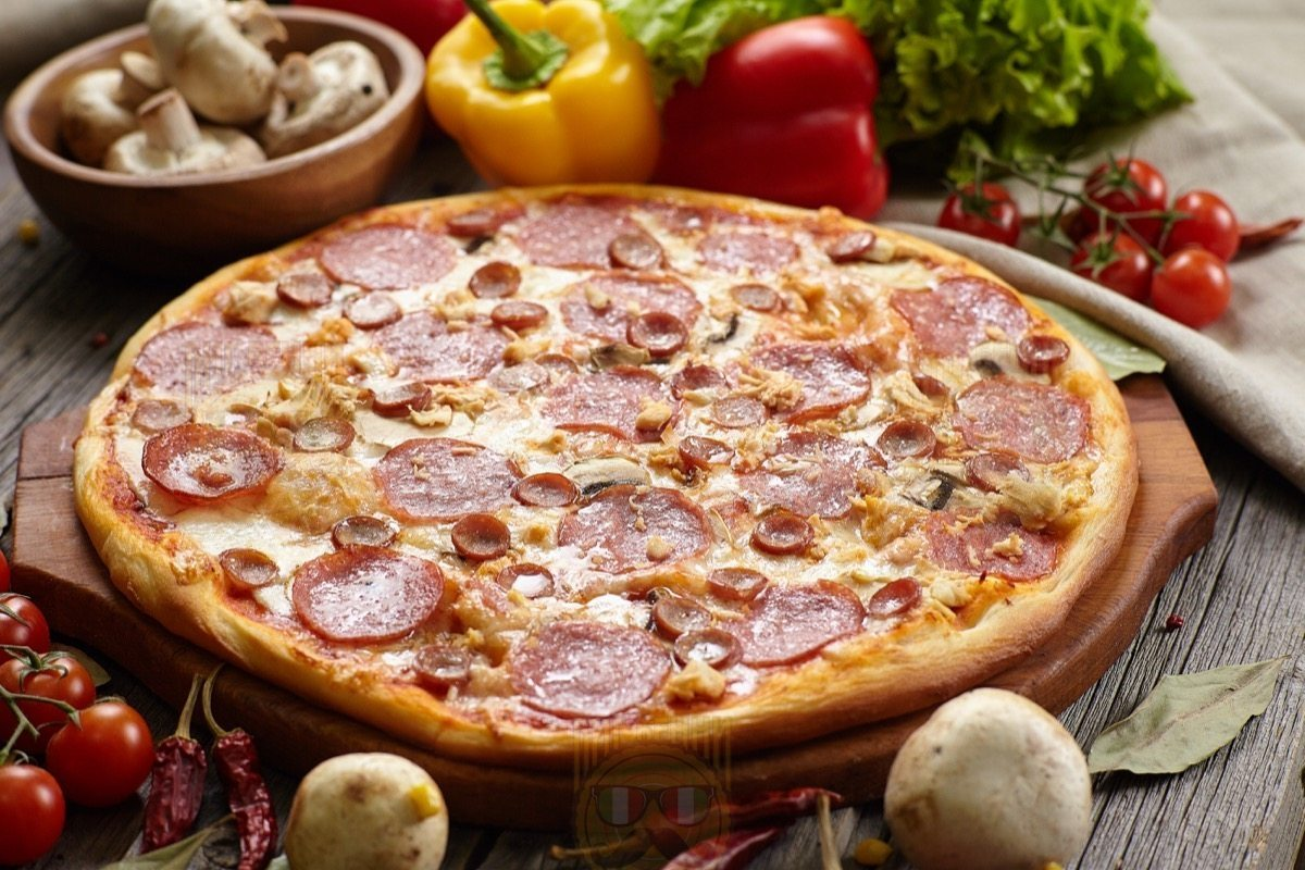 Пицца с мясом рецепты с картинками