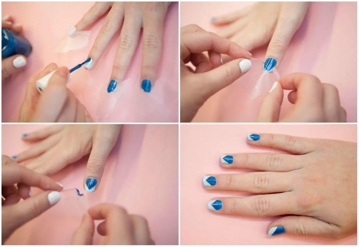 Как сделать красивые ногти в домашних условиях с лаком 403