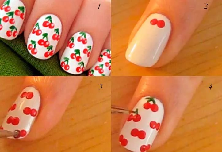Дизайн коротких ногтей пошагово