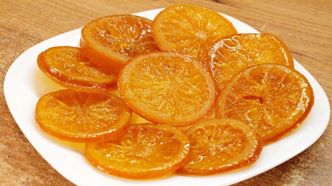 Цукаты апельсиновые в домашних условиях рецепт