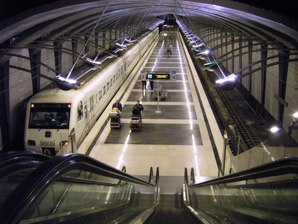 как доехать с вокзала до Шереметьево