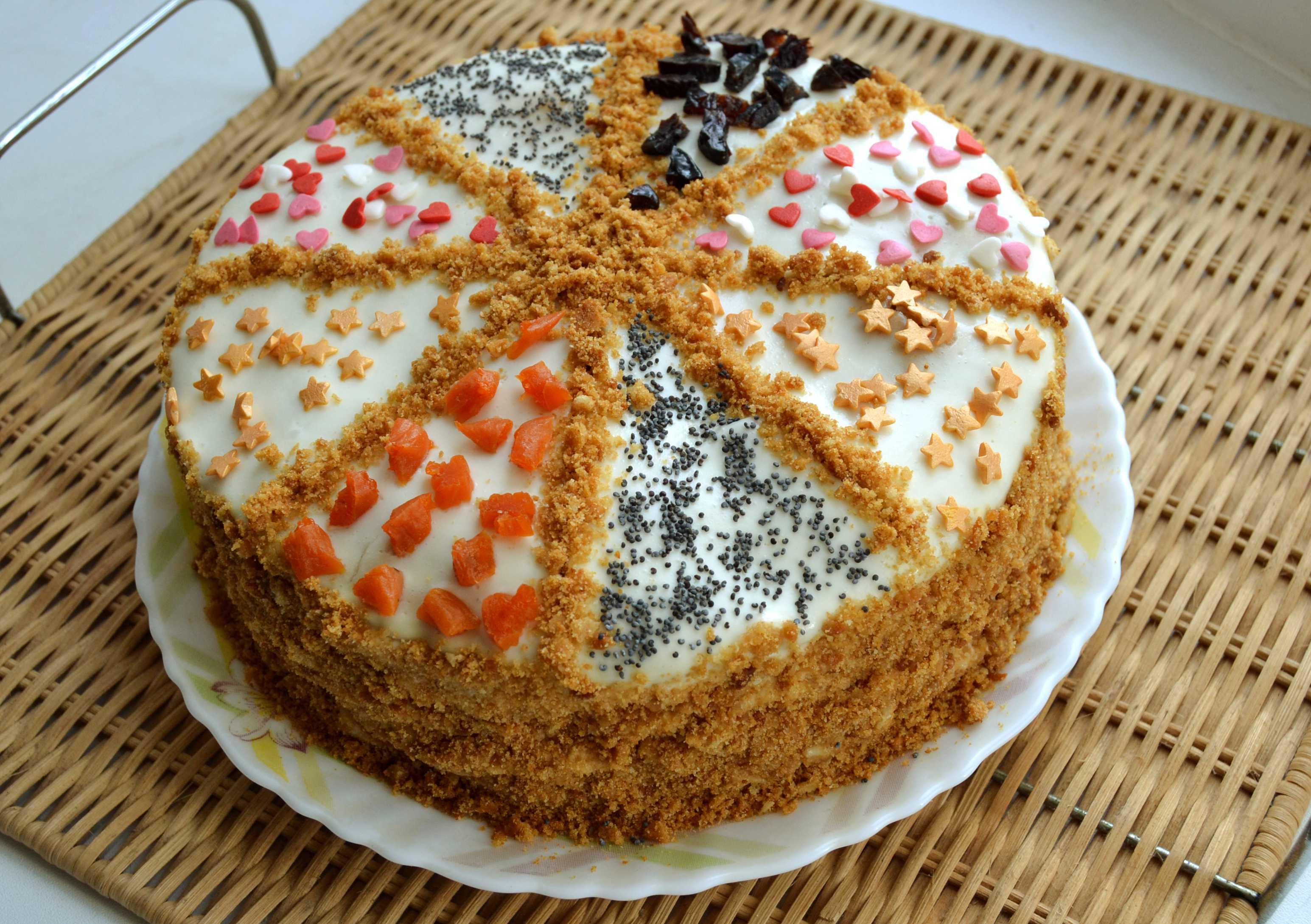 Рецепты тортов и украшения их
