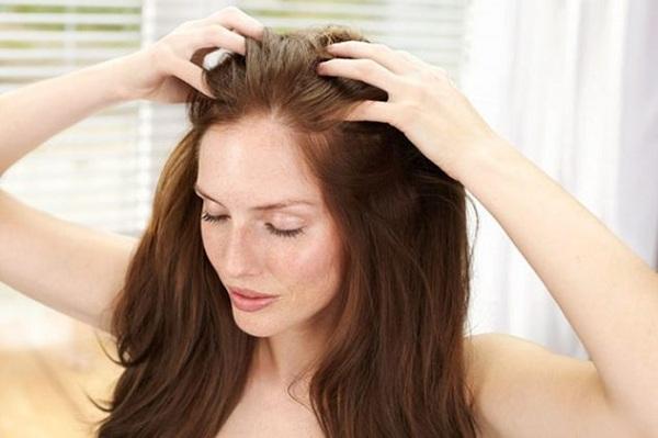 Точечный массаж головы при головной боли