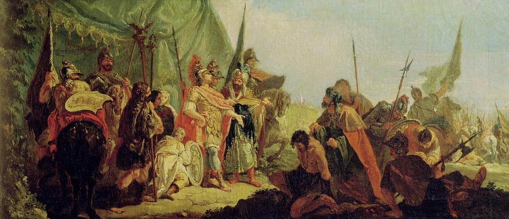 Александр и Пор
