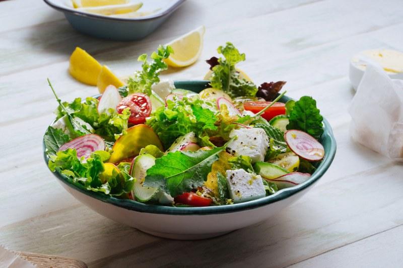 Салат Для Похудение Легкий. Овощные салаты для здорового и стабильного похудения