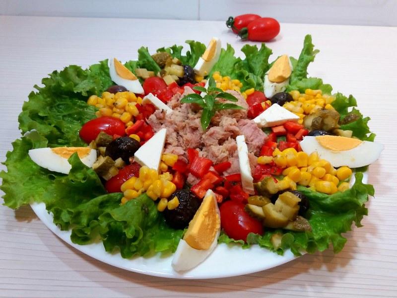 простые салаты для праздника с фото дачу
