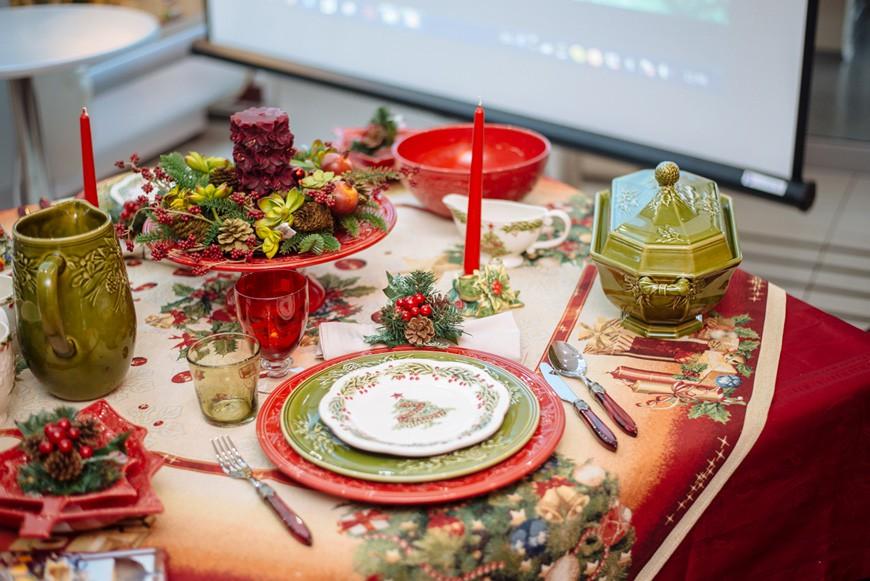 Сервировка новогоднего стола на 2019 год