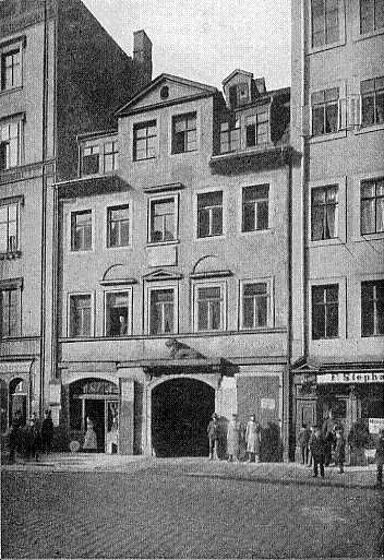 Дом, в котором родился Вагнер