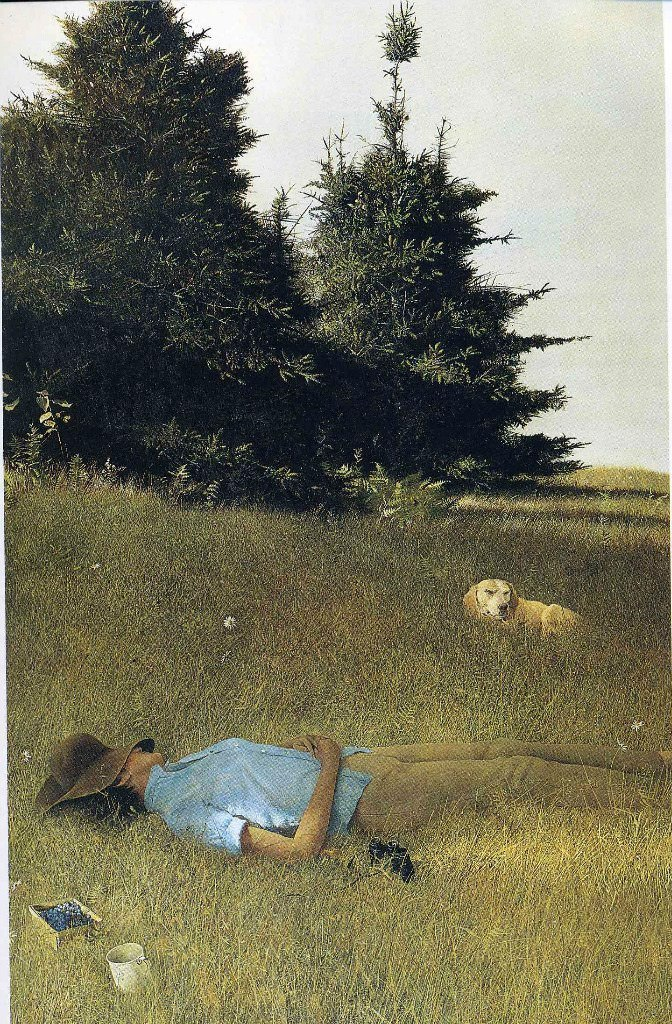 Эндрю Уайет. Дальний гром, 1961