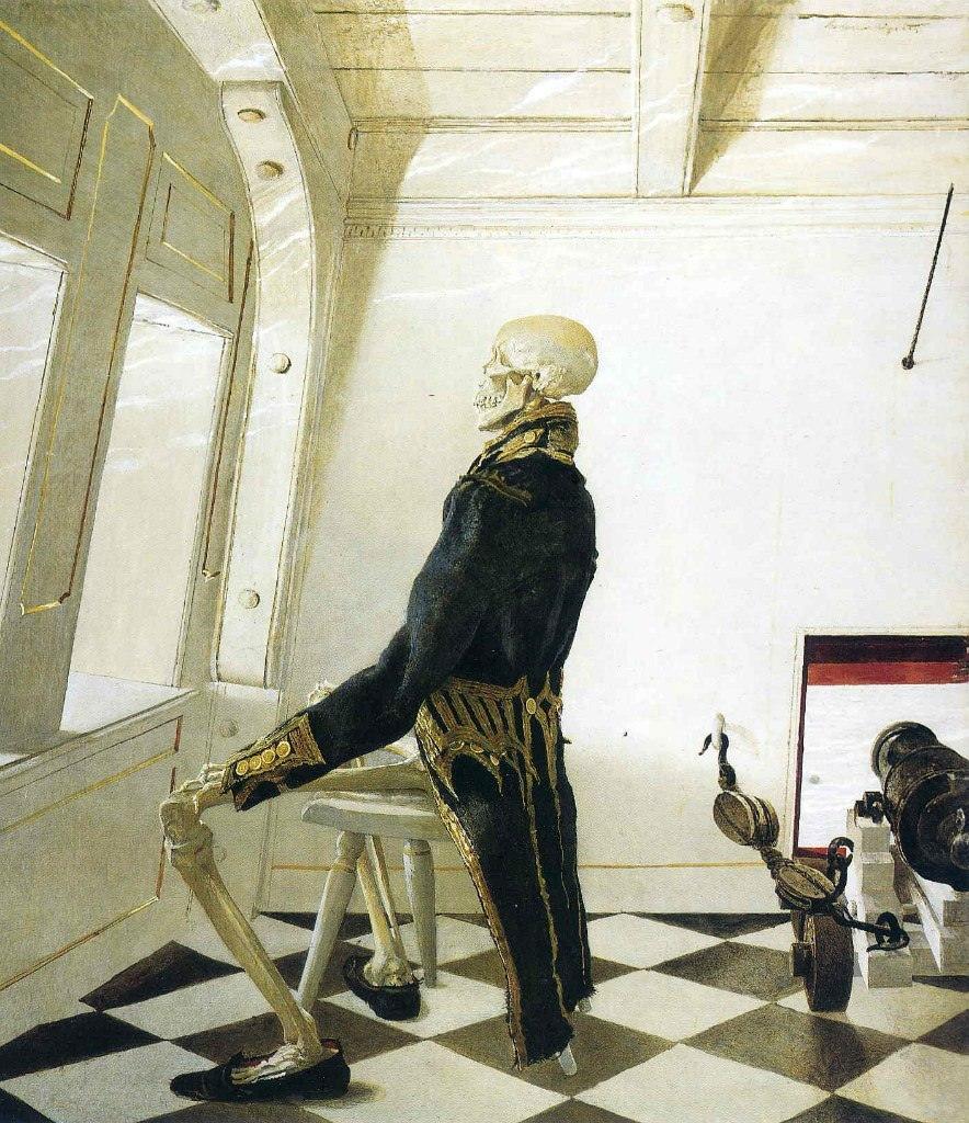 Эндрю Уайет. Доктор Син, 1981