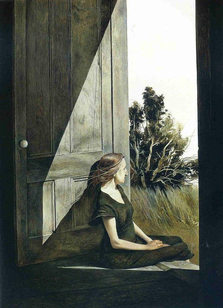 Эндрю Уайет. Кристина Ольсон, 1947