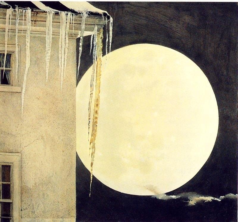 Эндрю Уайет. Лунное безумие, 1982