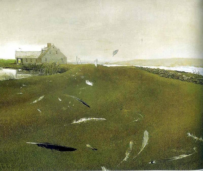 Эндрю Уайет. Оторвавшиеся от земли, 1996