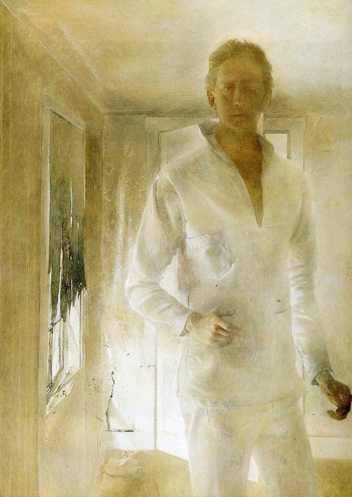 Эндрю Уайет. Призрак, 1949