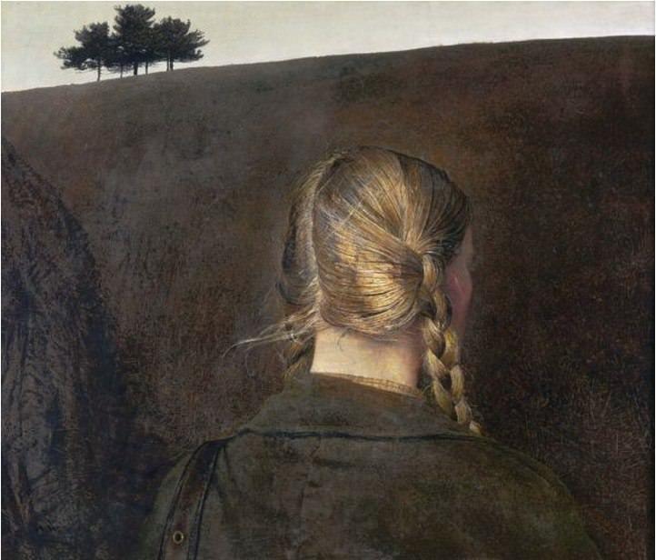 Эндрю Уайет. Проселочная дорога, 1979