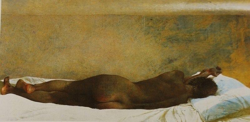 Эндрю Уайет. Загон для рабов, 1976