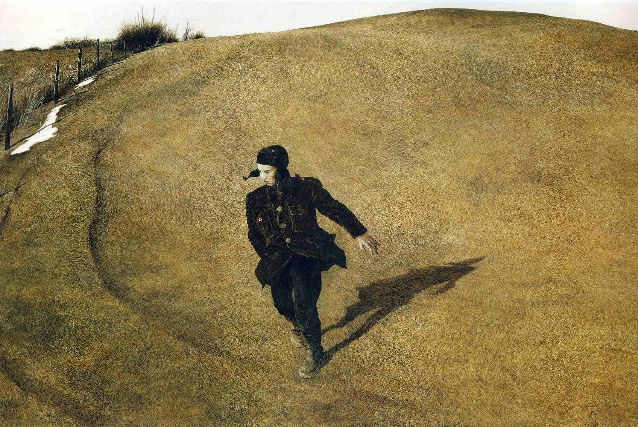 Эндрю Уайет. Зима, 1946