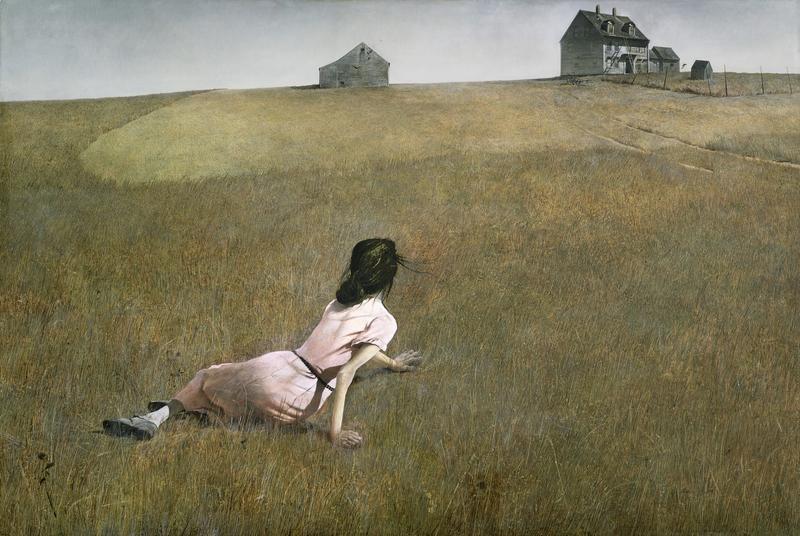 Эндрю Уайет. Мир Кристины, 1948