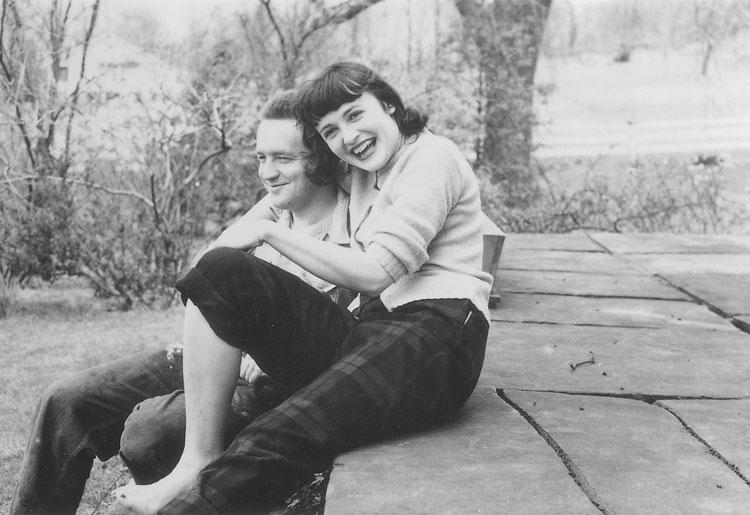 Эндрю и Бетси Уайет в 1940 году