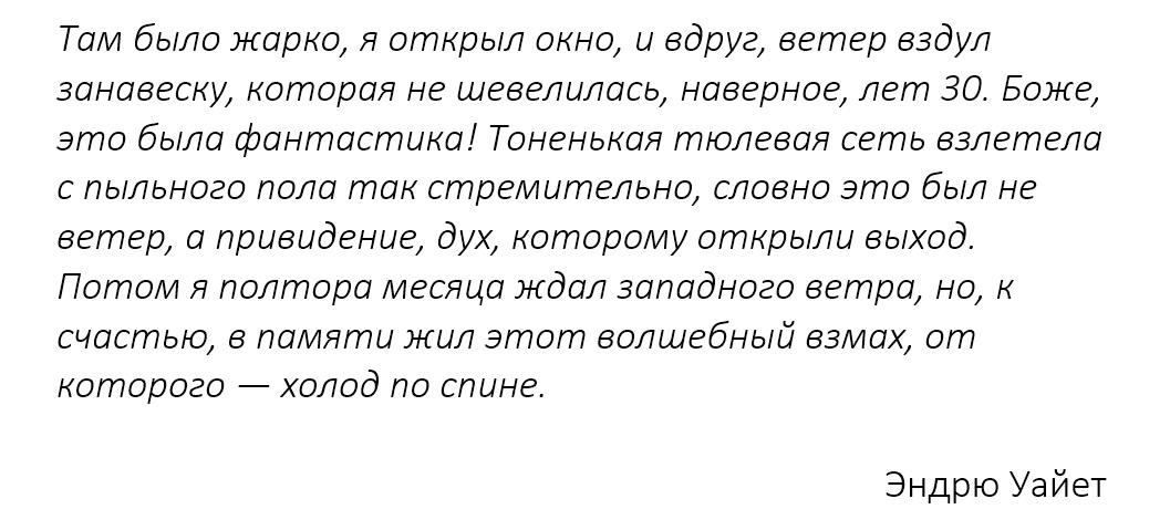Цитата Эндрю Уайета