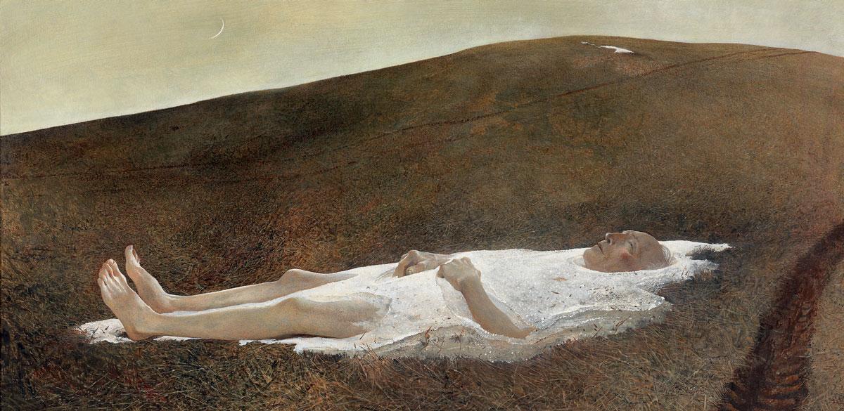 Эндрю Уайет. Весна, 1978