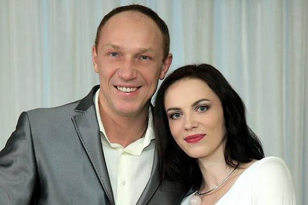 Максим Коновалов с женой Светланой