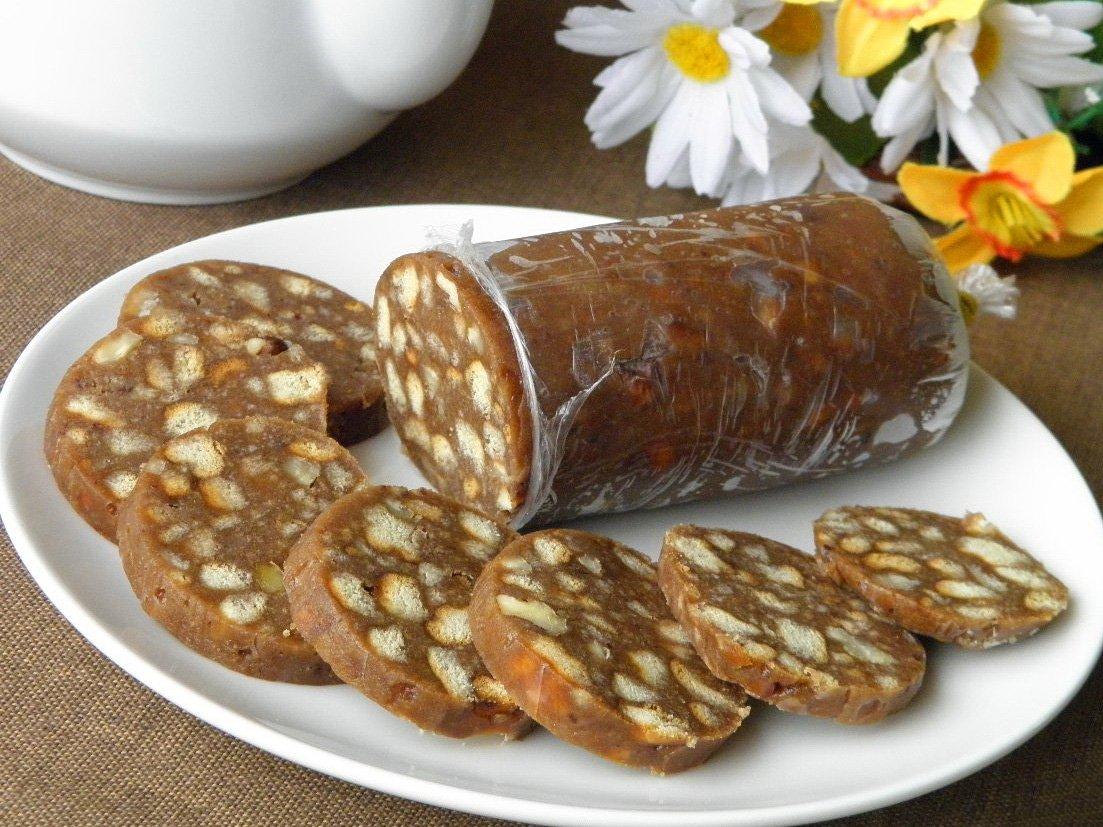 зал хорошее рецепт шоколадной колбасы из печенья с фото своей работе стремимся