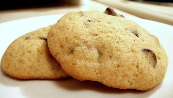 Печенье на огуречном рассоле с сухофруктами