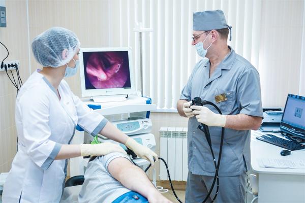 Обследование у гастроэнтеролога