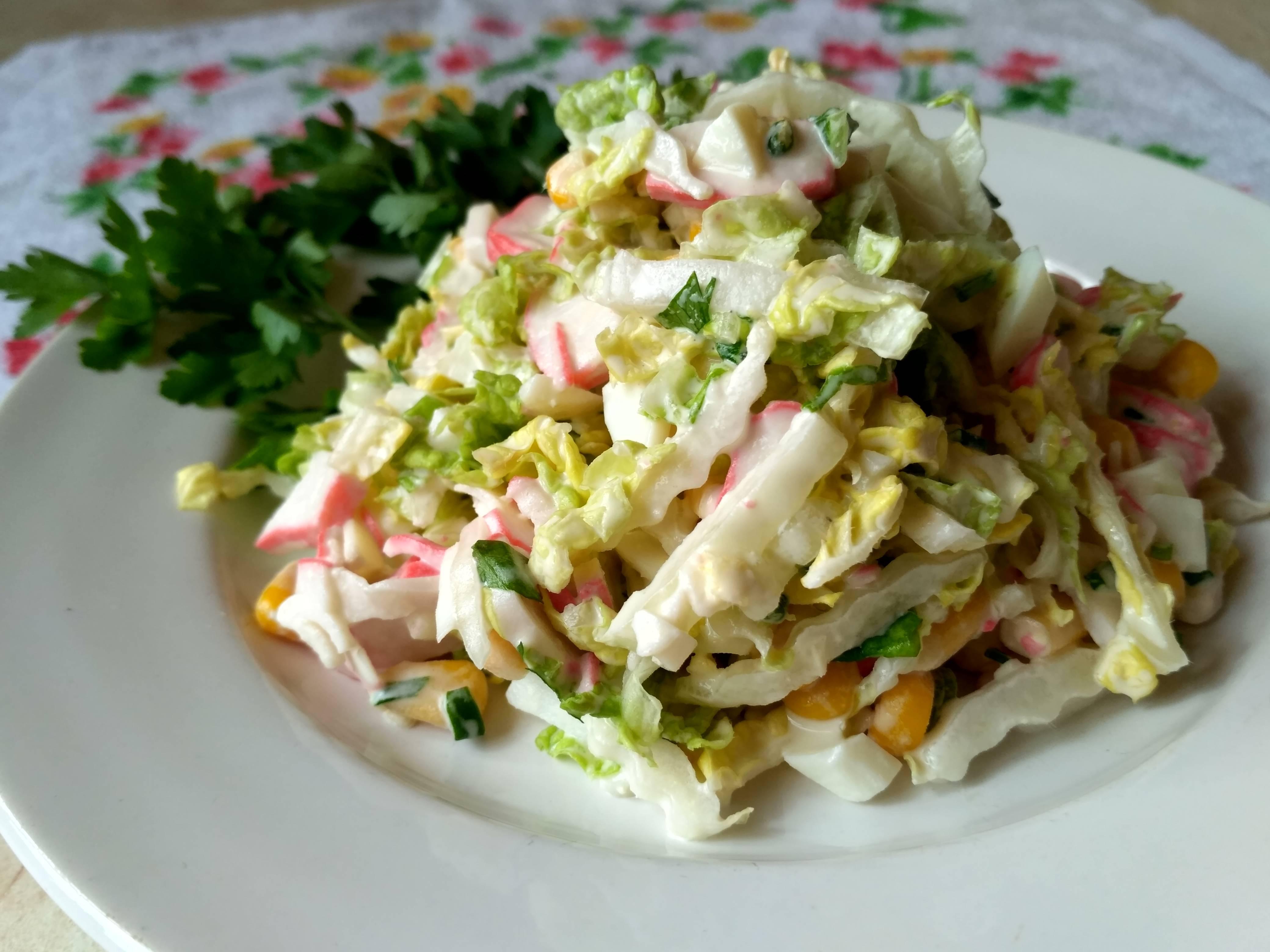 нарисованных рецепт салатов из крабовых палочек с фото кино очень