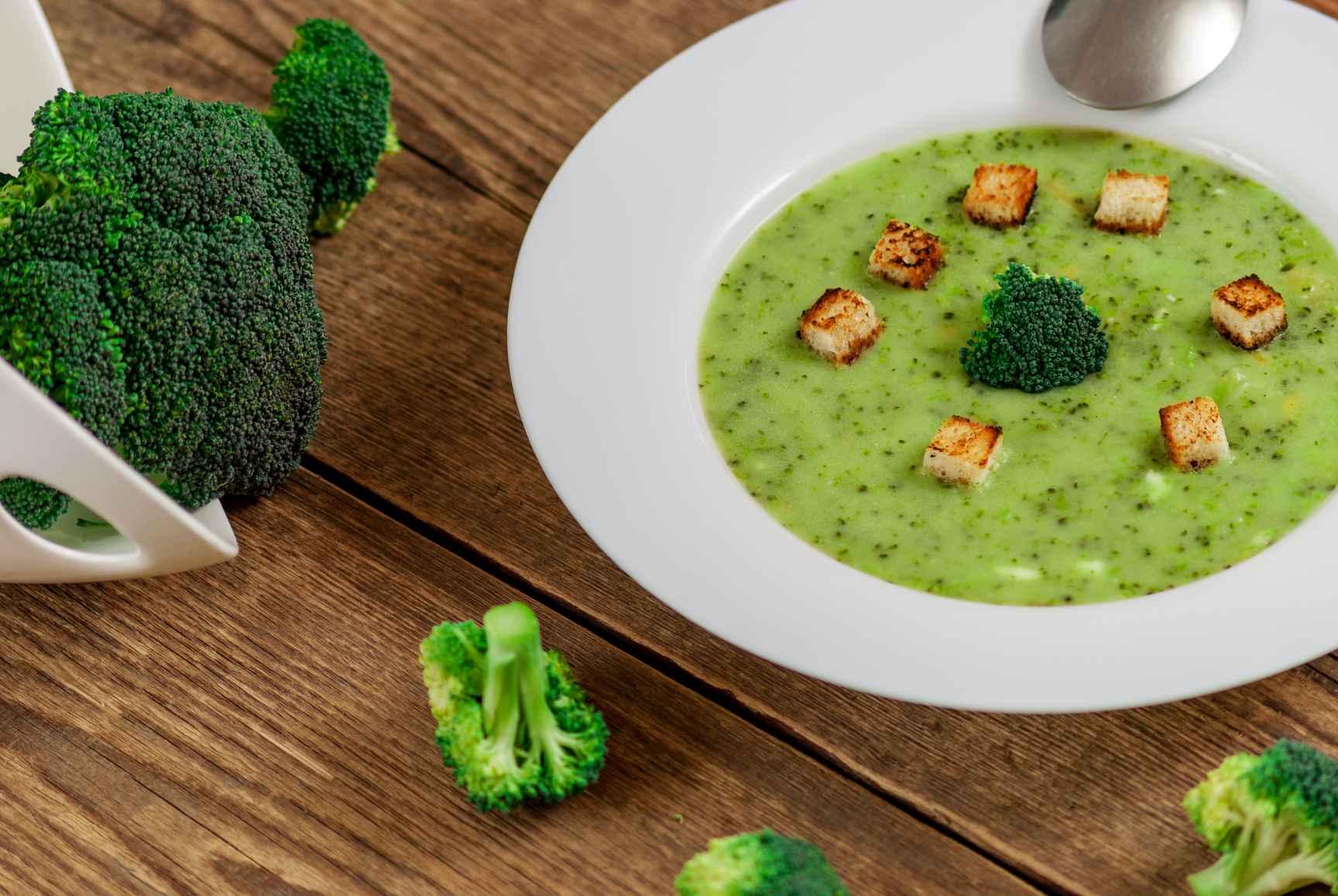 через переезд суп пюре из брокколи рецепты с фото своему удачному