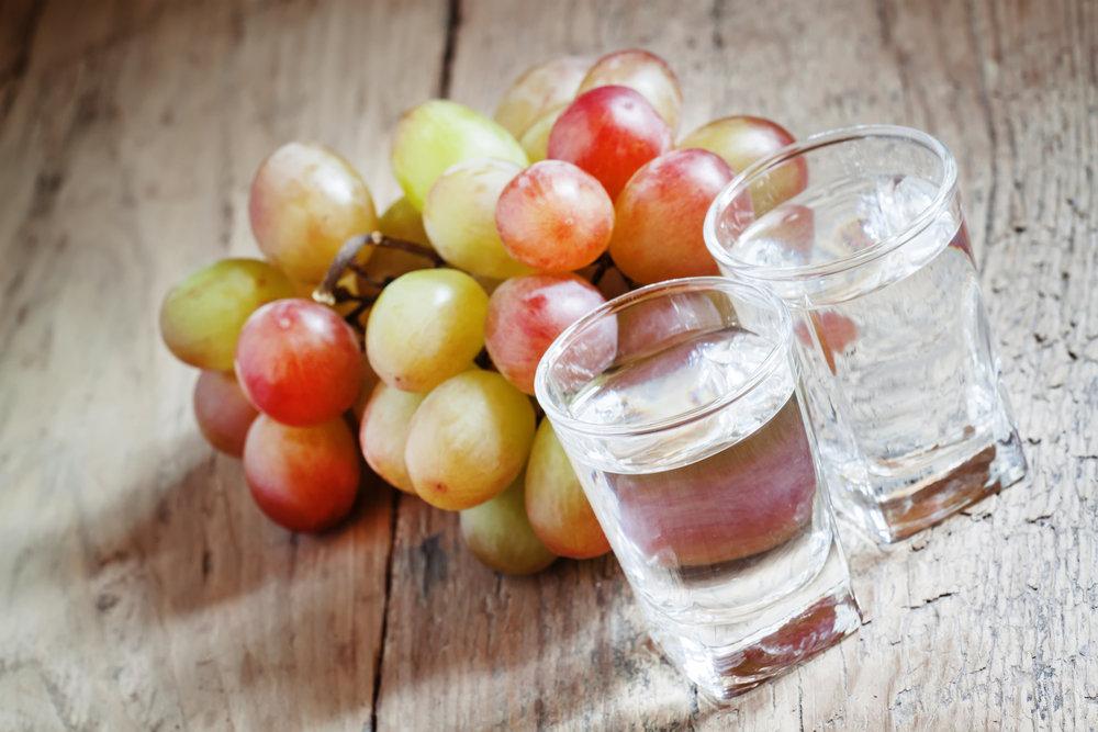 Итальянская водка из винограда