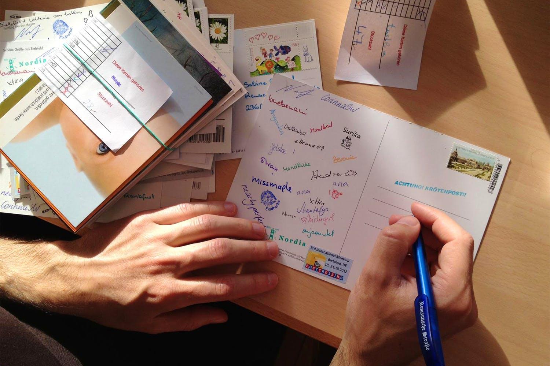 Отправка открыток в другие страны, открытка рождение