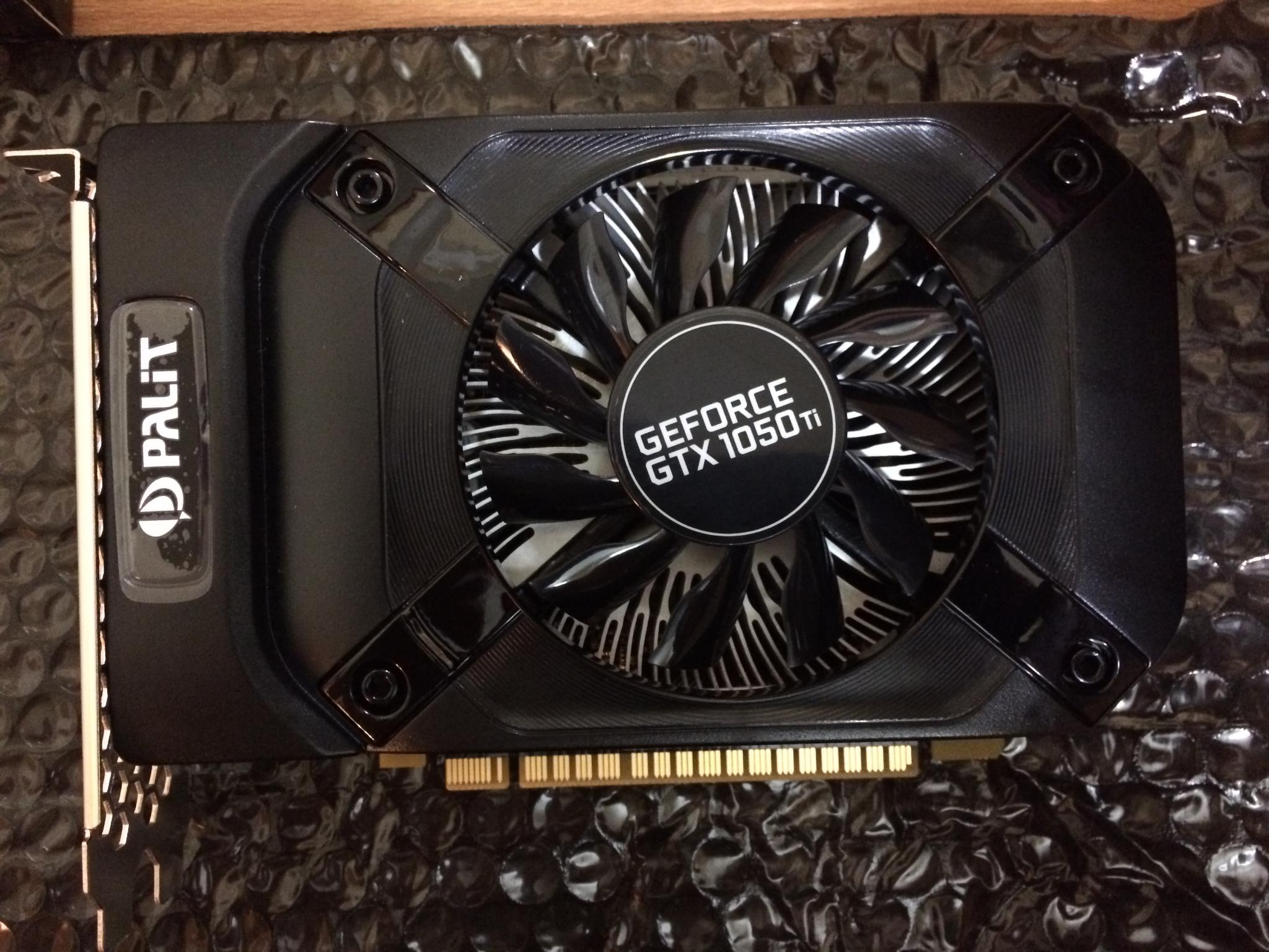 Видеокарта Palit Geforce GTX 1050 STORMX